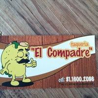 Photo taken at Taquería El Compadre by Edgar L. on 1/16/2015