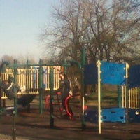Photo taken at Frick Park Blue Slide Playground by Kim N. on 1/19/2013