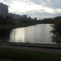 Photo taken at Мазиловский пруд by Даниил Г. on 10/2/2012