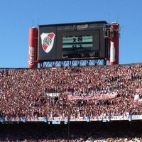 "Photo taken at Estadio Antonio Vespucio Liberti ""Monumental"" (Club Atlético River Plate) by Martin O. on 12/2/2012"