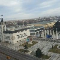 Photo taken at Панаирен мост (Plovdiv Fair bridge) by kadir ↗. on 12/25/2016