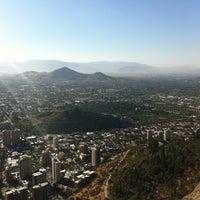 Photo taken at Parque Metropolitano de Santiago by Lana R. on 12/24/2012