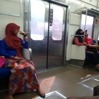 Photo taken at KRL Commuter Line by Josep G. on 5/30/2015