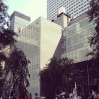 Photo taken at MoMA Sculpture Garden by Tom K. on 6/27/2013