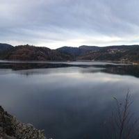 Photo taken at Zaovinsko jezero by Aleksandar S. on 11/11/2012