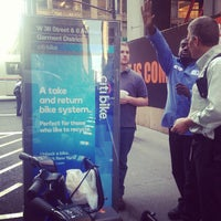Photo taken at Citi Bike Station by Tom🐳 L. on 6/5/2013