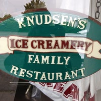Photo taken at Knudsen's Ice Creamery by Marc Y. on 6/5/2013