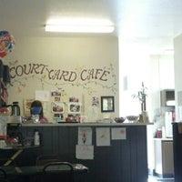 Photo taken at Courtyard Cafe by Sarah L. on 10/11/2012
