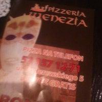 Photo taken at Pizzeria Wenecja by Mateusz J. on 10/11/2012