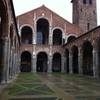 Photo taken at Basilica di Sant'Ambrogio by Egor P. on 5/1/2013