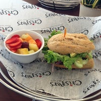 Photo taken at Crispers Fresh Salads, Soups and Sandwiches by Cullen G. on 1/10/2013