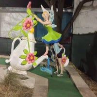 Photo taken at Peter Pan Mini Golf by 🎀Khara' H. on 12/3/2012