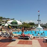 Photo taken at Turan Prince Aquapark by Matilda M. on 6/16/2013