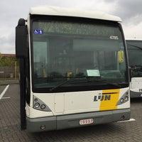 Photo taken at Stelplaats De Lijn by Fons R. on 10/25/2017