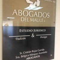 Photo taken at Abogados del Maule by Francisco A. on 9/12/2014