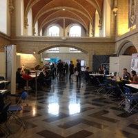 Photo taken at Universiteitshal by Sacha K. on 11/26/2014