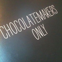 Photo taken at SOMA chocolatemaker by deCabbit on 5/29/2013