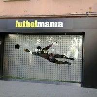 Photo taken at futbolmania by Miss P. on 12/7/2012