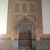 Photo taken at Saadian Tombs by Vadim M. on 1/2/2013