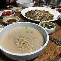Photo taken at 삼릉고향손칼국수 by Kenny on 10/7/2017