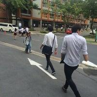 Photo taken at Bangkok University by Poppy N. S. on 7/25/2014