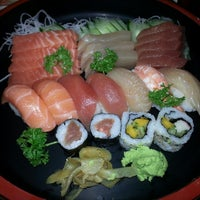 Photo taken at Nik Sushi by Fernando R. on 7/27/2014