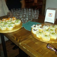 Photo taken at Osteria Dal Conte by Andrea D. on 5/18/2014