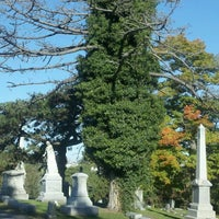 Photo taken at Evergreen Cemetery by Linda P. on 10/11/2012