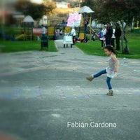 Photo taken at Parque San Cristobal by Fabián C. on 11/3/2014