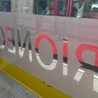 Photo taken at TransMilenio: Rionegro by Fabián C. on 5/15/2014