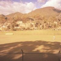 Photo taken at Parque San Cristobal by Fabián C. on 8/31/2014