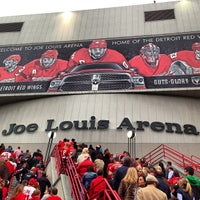 Photo taken at Joe Louis Arena by Fadi E. on 5/24/2013
