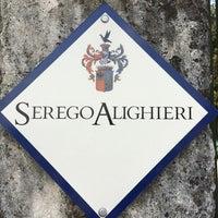 Photo taken at Serego Alighieri Wine by Semartin on 4/2/2014