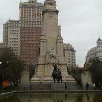 Photo taken at Spanish Square by Goetz G. on 2/19/2013