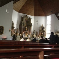 Photo taken at St. Luzia Mastershausen by Andreas C. on 4/14/2013