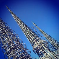 Photo taken at Watts Towers of Simon Rodia State Historic Park by Su A. on 7/11/2014