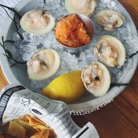 Photo taken at Eventide Oyster Co. by Penny Y. on 10/9/2015