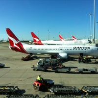 Photo taken at Brisbane Airport Domestic Terminal by borysSNORC on 9/17/2012