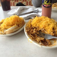 Photo taken at Skyline Chili by russell w. on 2/24/2013