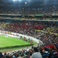 Photo taken at Estadio Jalisco by Fabbysziitaa G. on 3/17/2013