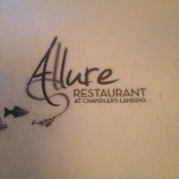 Photo taken at Allure Resturaunt by Mimi M. on 2/6/2013