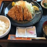 Photo taken at 旨いとんかつ カツ亭 by asuka boy on 9/28/2017
