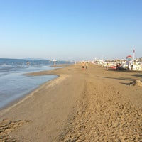 Photo taken at Lungomare di Bellariva by Mat S. on 7/4/2015