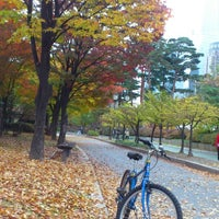 Photo taken at Yeouido Park Culture Center by PIMpim on 10/31/2014