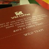 Photo taken at Wild Coffee & Tea by Nuhaa A. on 9/17/2014