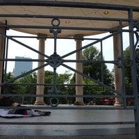 6/22/2013 tarihinde Eric P.ziyaretçi tarafından Parkman Bandstand'de çekilen fotoğraf