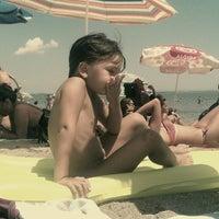 Photo taken at Северен Плаж (North Beach) by Boyko G. on 7/24/2013