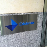 Photo taken at Edelman by David A. on 4/17/2013