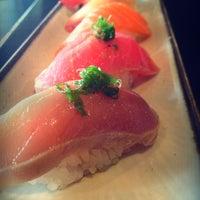 Photo taken at Sushi Kinoya by Cherry S. on 12/6/2012
