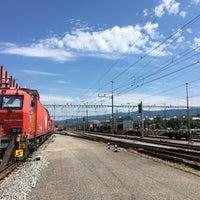 Photo taken at Bahnhof Rotkreuz by Martin W. on 8/23/2017